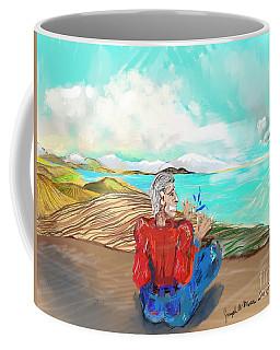 Chillin' Caricature Joe Coffee Mug