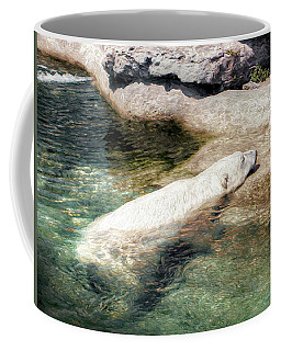 Chillin' Polar Bear Coffee Mug