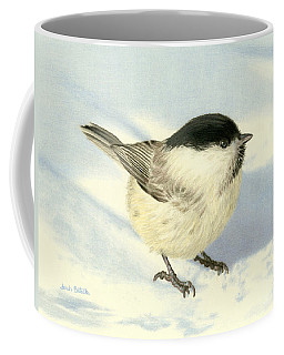 Chilly Chickadee Coffee Mug