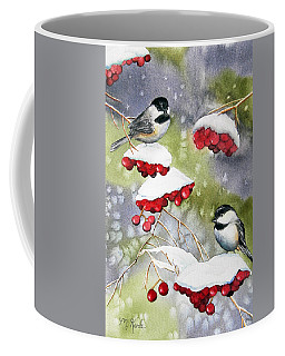 Chilly Chickadees Coffee Mug