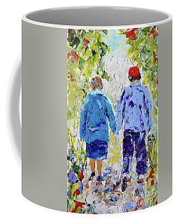 Chilly Spring Walk Coffee Mug