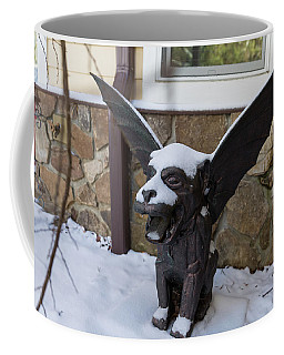 Chimera In The Snow Coffee Mug