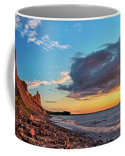 Chimney Bluffs Coffee Mug