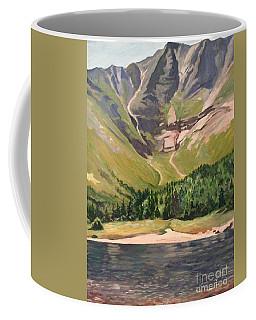 Chimney Pond At Katahdin Basin Coffee Mug