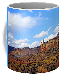 Chimney Rock Ghost Ranch New Mexico Coffee Mug