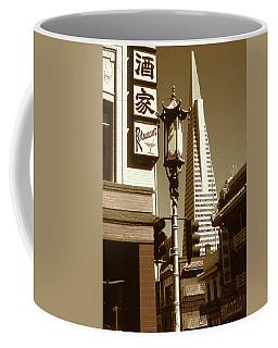 Chinatown San Francisco - Vintage Photo Art Coffee Mug