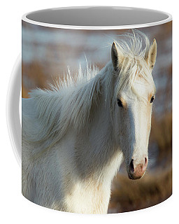 Chincoteague White Pony Coffee Mug
