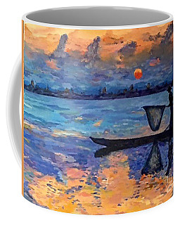 Chindwin Fisherman Coffee Mug