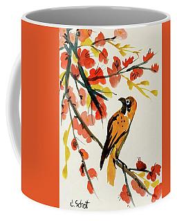 Chinese Bird With Blossoms Coffee Mug