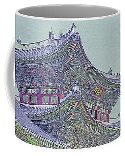 Chinese Building Coffee Mug