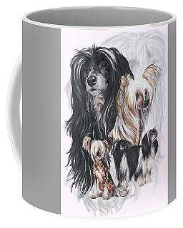 Chinese Crested And Powderpuff Medley Coffee Mug