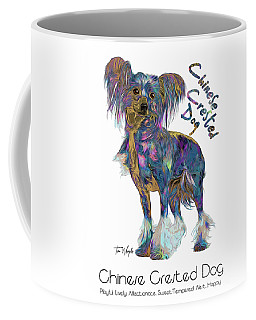 Chinese Crested Dog Pop Art Coffee Mug