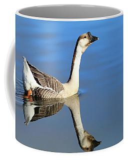 Chinese Goose In Blue Waters Coffee Mug