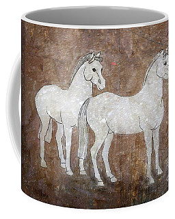 Chinese Horses Coffee Mug