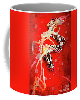 Chinese New Year Background Coffee Mug