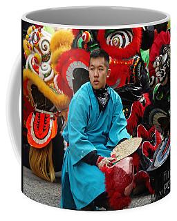 Chinese New Year Lion Dancers, Chinatown, Boston, Massachusetts, 2016 Coffee Mug