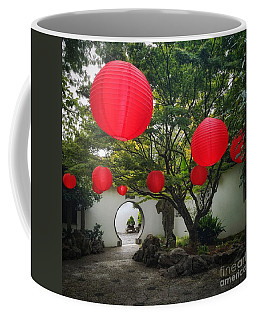 Chinese Tea Garden In Portland, Oregon Coffee Mug