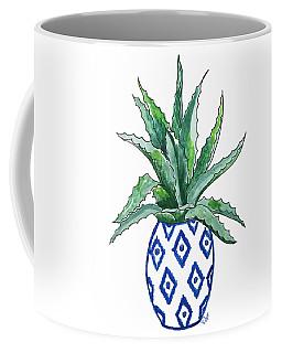 Chinoiserie Cactus Coffee Mug