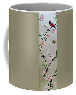 Chinoiserie - Magnolias And Birds #3 Coffee Mug
