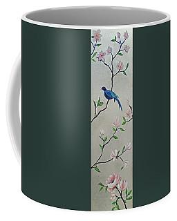 Chinoiserie - Magnolias And Birds #4 Coffee Mug