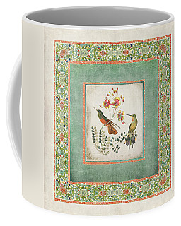 Chinoiserie Vintage Hummingbirds N Flowers 1 Coffee Mug