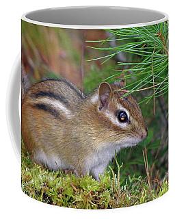 Chippie Takes A Pose Coffee Mug by Lynda Lehmann