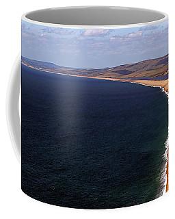Chesill Beach Dorset Coffee Mug by Stephen Melia
