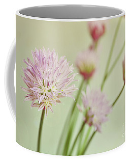 Chives In Flower Coffee Mug by Lyn Randle