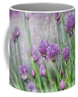 Chives In Texture Coffee Mug