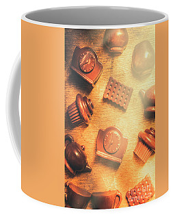 Chocolate Cafe Background Coffee Mug