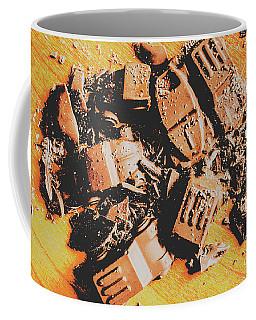 Chocolate Demolition Derby Coffee Mug