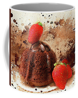 Coffee Mug featuring the photograph Chocolate Explosion by Darren Fisher