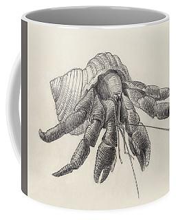 Chocolate Hermit Crab Coffee Mug