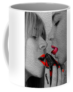 Chocolate Kiss- Coffee Mug