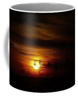 Coffee Mug featuring the photograph Chocolate  Sunset by John Glass
