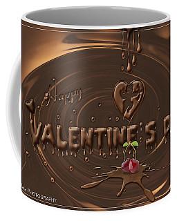Chocolate Valentines Day Card Coffee Mug