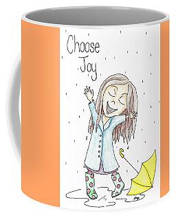 Choose Joy Girl Coffee Mug