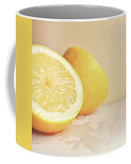Chopped Lemon Coffee Mug by Lyn Randle
