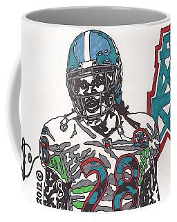 Chris Johnson  Coffee Mug by Jeremiah Colley