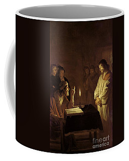 Christ Before The High Priest Coffee Mug
