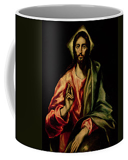 Christ Blessing Coffee Mug
