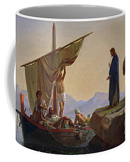 Christ Calling The Apostles James And John Coffee Mug