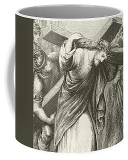 Christ Carrying His Cross Coffee Mug
