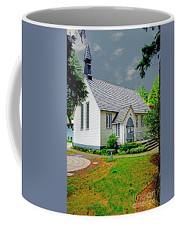 Coffee Mug featuring the photograph Christ Church by Rod Wiens