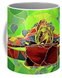 Christ In Stained Glass Coffee Mug