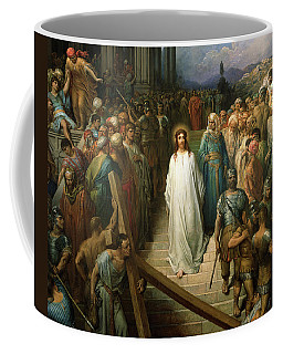 Christ Leaves His Trial Coffee Mug