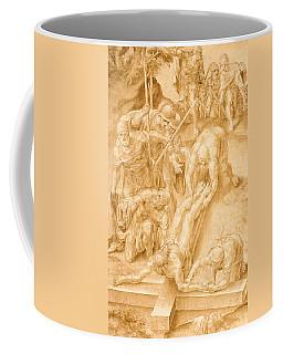 Christ Nailed To The Cross Coffee Mug