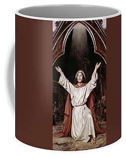 Christ On The Mount Of Olives Anker Lund Coffee Mug