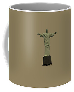 Christ The Redeemer Brazil Coffee Mug