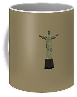Christ The Redeemer Brazil Coffee Mug by David Dehner